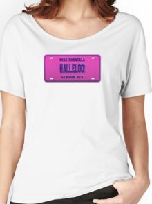Halleloo! - Shangela License Plate Women's Relaxed Fit T-Shirt