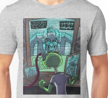 Mad Scientist Trapping Zomboy Unisex T-Shirt