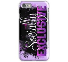 Socially Exclusive iPhone Case/Skin