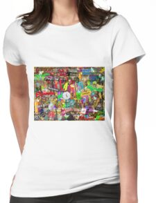 Happy Hour Womens Fitted T-Shirt
