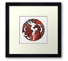 Venus In Furs Framed Print