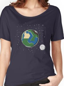 Earth Women's Relaxed Fit T-Shirt