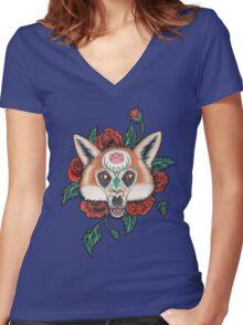 Daji Women's Fitted V-Neck T-Shirt