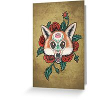 Daji Greeting Card