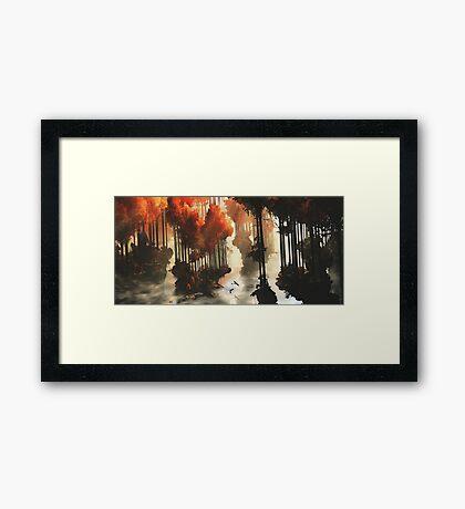 Autumn forests Framed Print