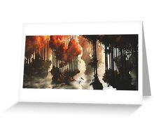 Autumn forests Greeting Card