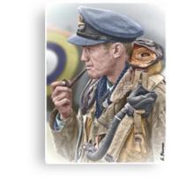 RAF Spitfire Pilot Canvas Print