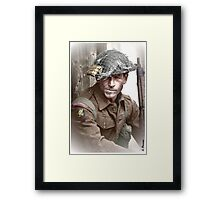 British Soldier WW2 Framed Print