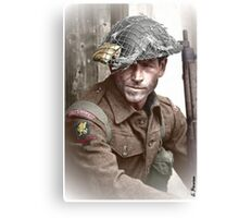 British Soldier WW2 Canvas Print