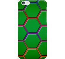 Gradient Turtle Shells (Large/Dark) iPhone Case/Skin