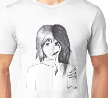 The Split Face Unisex T-Shirt