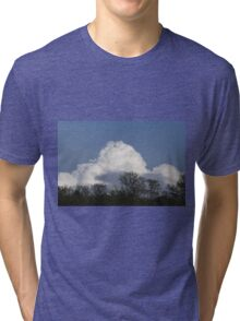 clouds in the sky Tri-blend T-Shirt