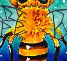 Space Bee Sticker
