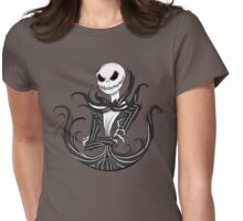 The Pumpkin King Womens Fitted T-Shirt
