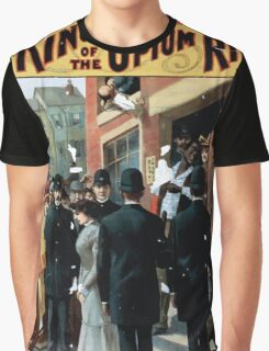 Performing Arts Posters King of the opium ring big scenic sensation by Chas E Blaney Chas A Taylor 1106 Graphic T-Shirt