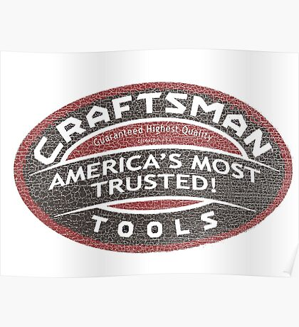 Craftsman Tools Poster