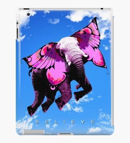 Believe You Can Fly iPad Case/Skin