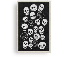 A Lot Of Skulls Canvas Print