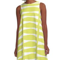 Key Lime Kite Ties A-Line Dress