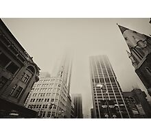 Foggy Friday in Perth Photographic Print