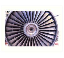 Jet Power Art Print