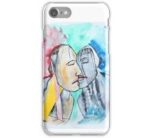 Kiss In Ruins iPhone Case/Skin