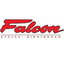 Falcon Bicycles England Photographic Print