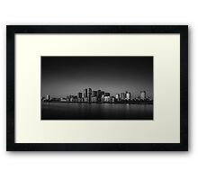 Pacification - London Lights Framed Print