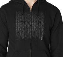 In Binary Code ! Zipped Hoodie