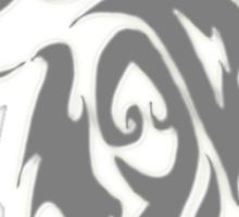 Wolfpack Silver Sticker