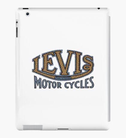 Levis Vintage Motorcycles UK iPad Case/Skin