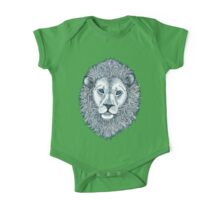 Blue Eyed Lion One Piece - Short Sleeve