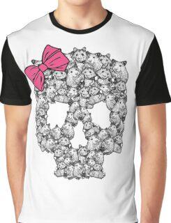 Hamster Sugar Skull Graphic T-Shirt