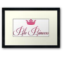 Pole Princess Framed Print