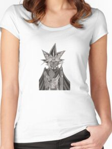 YU-GI-OH! #2 Women's Fitted Scoop T-Shirt