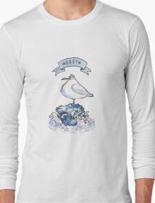 Ahoy Seagull Long Sleeve T-Shirt