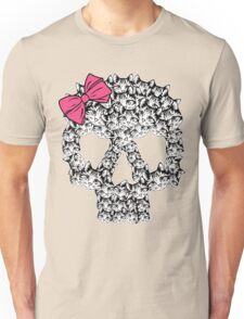 kitten sugar skull Unisex T-Shirt