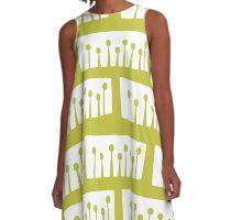 Retro Sprout A-Line Dress