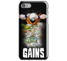 Goku - Gains iPhone Case/Skin