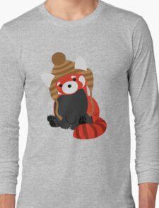 Collin the Beanie-Wearing Red Panda T-Shirt