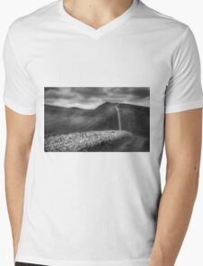 Great Wall Of Hadrian Mens V-Neck T-Shirt