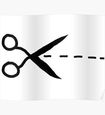 Scissors! Poster