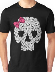 Poodle Sugar Skull Unisex T-Shirt