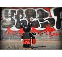 Mickey Photographic Print
