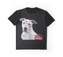 Pitbull Pink Kisses Graphic T-Shirt