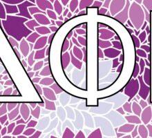 Sorority DPHIE Purple Sticker