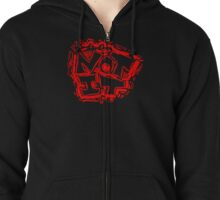 """Avoid Responsibility. Say """"Not It."""" Zipped Hoodie"""