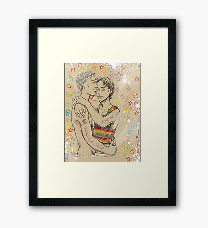 Mutant & Proud Framed Print