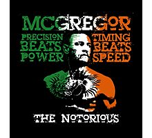McGregor The Notorious Photographic Print
