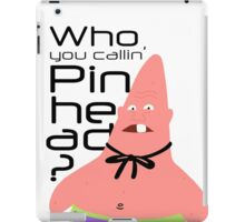 Pinhead - Patrick Star iPad Case/Skin